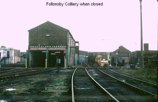 follingsby colliery prior to demolition