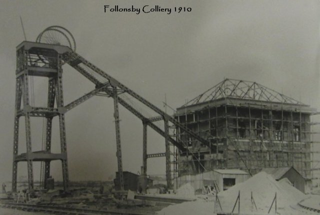 follonsby colliery