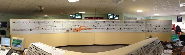 metro control centre map
