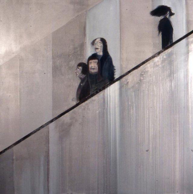 Jock McFadyen - Silver Escalator - 1999