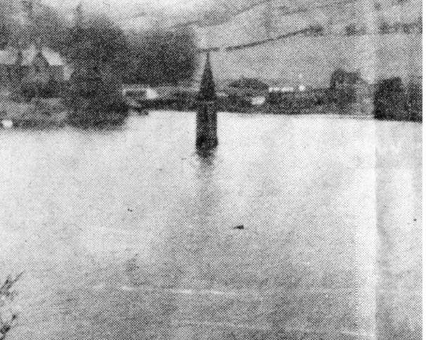 ladybower reservoir underwater church