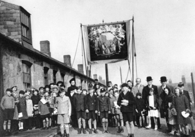 marsden village - school children