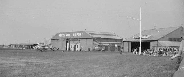 woolsington airport